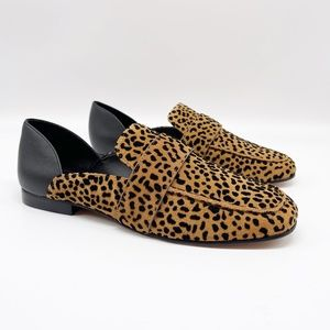 1. STATE Lace Leopard Loafer